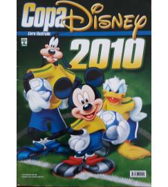 Album de Figurinhas  Copa Disney 2010  - Completo  -  Com Poster