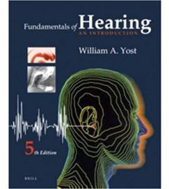 Fundamentals of Hearing - William A. Yost