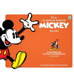 Os Anos De Ouro De Mickey - 1932  - 1933  - O Mistério Do Castelo Assombrado