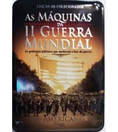 BOX DVD - As máquinas da II Guerra Mundial: Os Americanos
