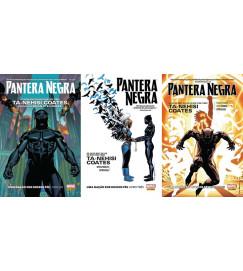 Pantera Negra - Uma Nação Sob Nossos Pés - 3 Volumes