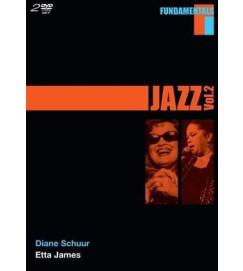 BOX DVD  - Fundamentals Jazz -  Diane Schuur e Etta James - Volume 2