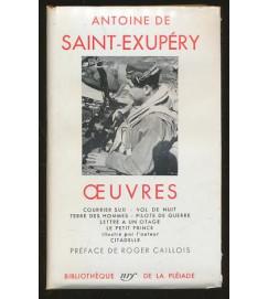Oeuvres - Antoine De Saint - Exupery - Pleiade