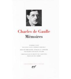 Charles De Gaulle - Memoires - Pleiade - Acompanha Caixa Original