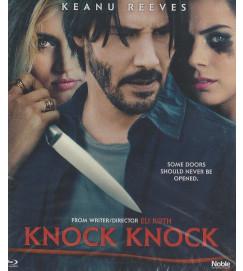Knock Knock com Keanu Reeves - Blu-ray  lacrado
