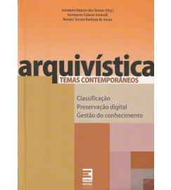 Arquivística -  temas contemporâneos