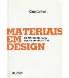 Materiais em design - 112 materiais para design de produtos