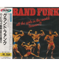 Cd Grand Funk- All the girls in the world beware ! ( lacrado - edição japonesa )