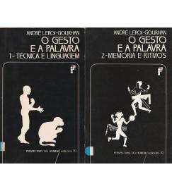 O Gesto e a Palavra ( 2 volumes )