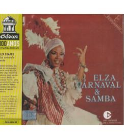 CD Elza Soares - Carnaval & Samba - Coleção Odeon 100 Anos ( lacrado )