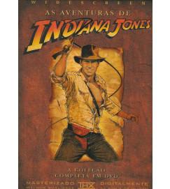 As Aventuras de Indiana Jones : A coleção completa em DVD ( Widescreen )