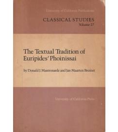 The Textual Tradition of Euripedes Phoinissai