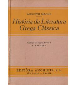 História da Literatura Grega Clássica