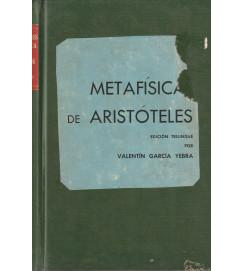 Metafísica de Aristóteles Volume 2 Trilingue Grego Latim Espanhol