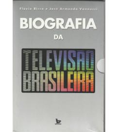 Biografia da Televisão Brasileiro Caixa Box C/ 2 Volumes
