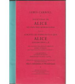 Aventuras de Alice no País das Maravilhas Caixa Box C/ 2 Volumes