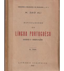 Dificuldades da Língua Portuguesa