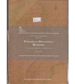 Pensamento Diplomático Brasileiro Caixa Box C/ 3 Volumes