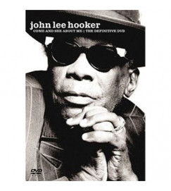 DVD + CD - John Lee Hooker -  Come and See About Me - The Definitive Dvd