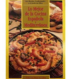 Lo Mejor de La Cocina Española y Mediterránea - autor não identificado
