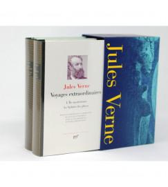 Box  Voyages extraordinaires -  Jules Verne - Pleiade - 2 Volumes