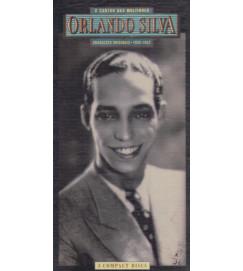Orlando Silva O Cantor das Multidões - gravações originais 1935-1942 ( Box com 3 cds + livreto )