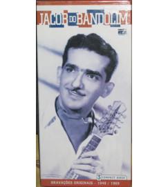 Jacob do Bandolim - Gravações Originais 1949/1969 ( Box LACRADO com 3 cds incluindo encarte com perfil biográfico do artista )