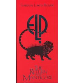 Emerson Lake and Palmer - The Return of the Manticore ( Box com 4 cds + livreto LACRADO )