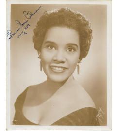Theresa Greene Coleman - Autografada - Maio 1959
