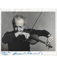 Alexander Schneider - Autografada - 1970
