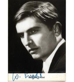 Wolfgang Probst - Autografada -