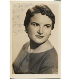 Ruth Slenczynska  - Autografada e Com Dedicatória.