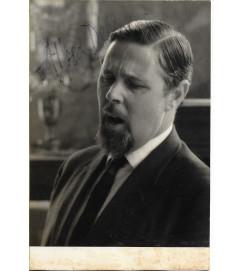 Alfred Deller - Autografada