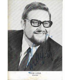Luigi Lega - Autografado -