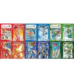 Guerreiras Mágicas De Rayearth - 1 ª Temporada Completa  - 12 Volumes