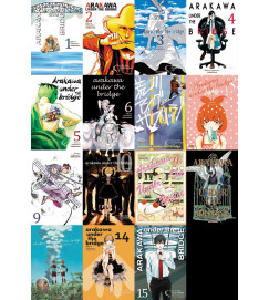 Arakawa Under The Bridge - Completa - 15 Volumes.