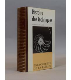 Histoire Des Techniques - Bertrand Gille - Pleiade