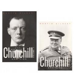Winston Churchill : Uma Vida . 2 volumes
