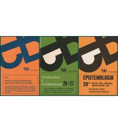 Trio : Vanguarda e Modernidade + Epistemologia + Poéticas e Manifestos Que Abalaram o Mundo  ( + 20% de desconto )