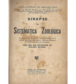 Sinopse de Sistemática Zoologia - Jose Lacerda de Araujo Feio